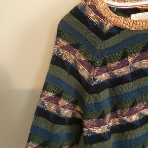 Urban Outfitters Sweaters - Urban Outfitters   Koto Marled Geo Pattern Sweater